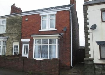 Thumbnail 2 bed semi-detached house for sale in Station Road, Gunness, Scunthorpe