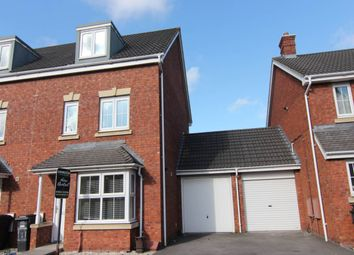 Thumbnail 4 bed property to rent in Careys Way, Weston Village, Weston-Super-Mare