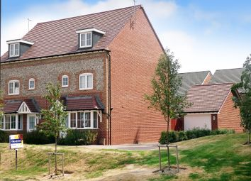 Thumbnail 4 bed semi-detached house for sale in Brougham Grove, Angmering, Littlehampton