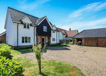 Thumbnail 5 bed detached house for sale in Bunwell, Norwich, Norfolk
