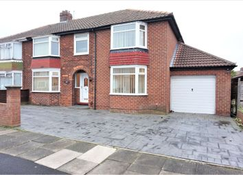 Thumbnail 5 bed semi-detached house for sale in Heythrop Drive, Middlesbrough