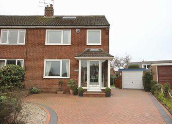 Thumbnail 4 bed semi-detached house for sale in Langholme Road, Penwortham, Preston