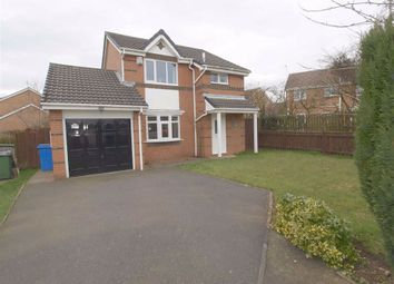 Thumbnail 3 bed detached house for sale in Carmel Grove, Cramlington