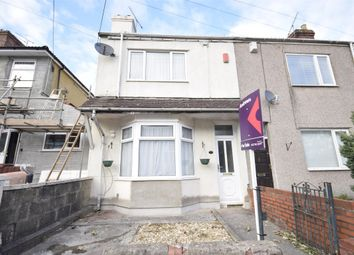 Thumbnail 3 bedroom end terrace house for sale in Gladstone Road, Kingswood, Bristol