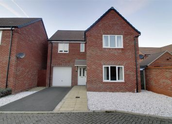 Thumbnail 4 bed detached house for sale in Baroness Way, Market Deeping, Peterborough