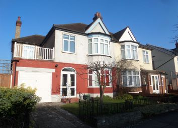 Thumbnail 4 bedroom semi-detached house for sale in Crantock Road, London