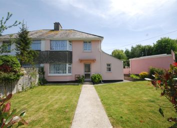 Thumbnail 3 bed semi-detached house for sale in Coombe Road, Penzance