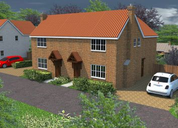 Thumbnail 3 bed semi-detached house for sale in The Paddocks, Little Hill, Great Bricett, Ipswich, Suffolk