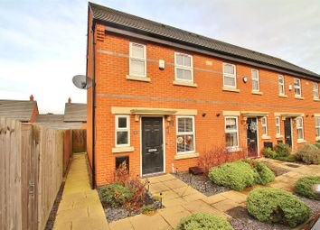 Thumbnail 2 bedroom end terrace house for sale in Merttens Drive, Rothley, Leicestershire
