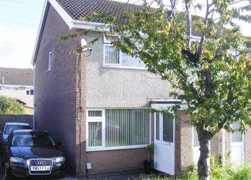 Thumbnail 2 bed semi-detached house for sale in Heol Treffynnon, Morriston, Swansea