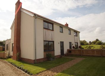 Thumbnail 3 bed semi-detached house for sale in Middleton Moor, Middleton, Saxmundham