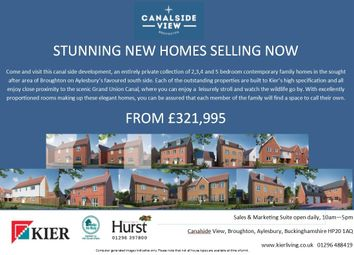 Thumbnail 2 bed semi-detached house for sale in Provis Wharf, Aylesbury
