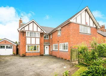 Thumbnail 6 bed detached house for sale in Nantwich Road, Calveley, Tarporley