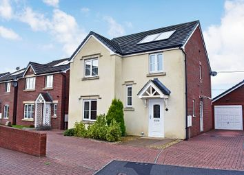 Thumbnail 4 bed detached house for sale in Clos Cae Ffynnon, North Cornelly, Bridgend.