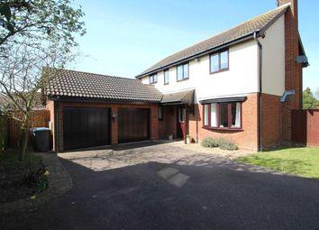 Thumbnail 4 bed detached house for sale in Battles Lane, Grange Farm, Kesgrave, Ipswich