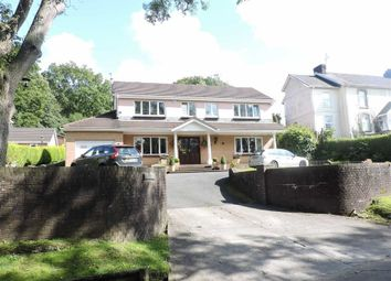 Thumbnail 4 bed detached house for sale in Garnswllt Road, Pontarddulais, Swansea