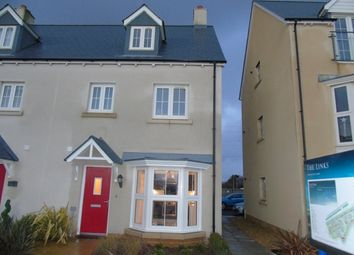 Thumbnail 4 bed town house to rent in Y Corsydd, Llanelli