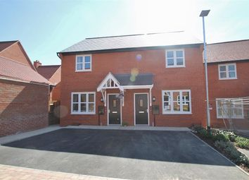 Thumbnail 2 bed semi-detached house to rent in Millground Field, Winslow, Buckingham