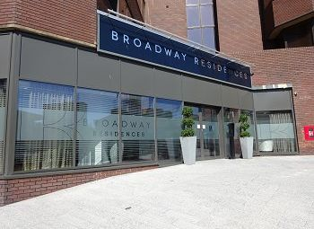 Thumbnail 1 bed flat to rent in Broadway, 105 Broad Street, Birmingham