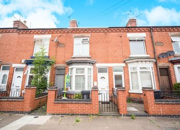 Thumbnail 2 bed terraced house for sale in Turner Road, Leicester