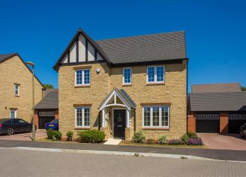 Thumbnail 4 bed detached house for sale in Springfields, Ambrosden, Bicester