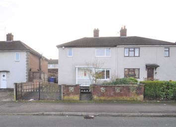 Thumbnail 3 bed semi-detached house for sale in Cedar Road, Newcastle-Under-Lyme