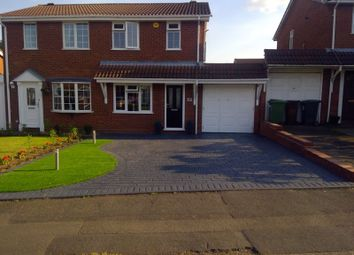 Thumbnail 2 bed semi-detached house for sale in Gorey Close, Willenhall