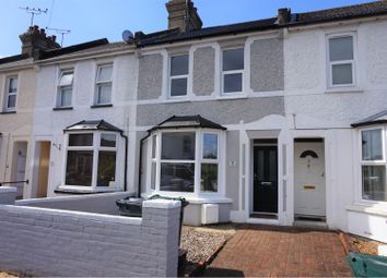 Thumbnail 3 bed terraced house for sale in Linden Road, Ashford