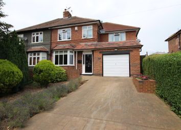 Thumbnail 4 bed semi-detached house for sale in Meadow Road, Beeston, Nottingham