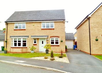 Thumbnail 4 bed detached house for sale in Pentre Court, Wrexham