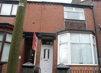 Thumbnail 2 bed terraced house to rent in Baskeyville Road, Northwood, Stoke-On-Trent
