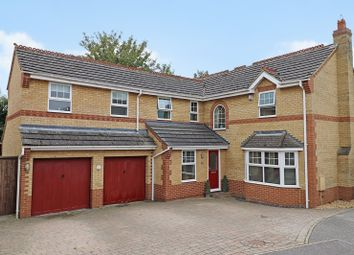 Thumbnail 5 bed detached house for sale in Vicarage Close, Waterbeach, Cambridge