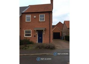 Thumbnail 3 bed semi-detached house to rent in Dysart Grange, Newark