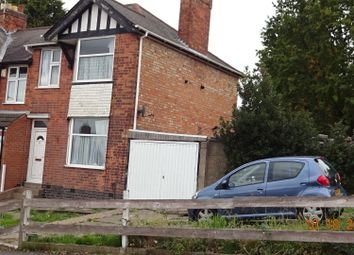 Thumbnail 3 bedroom semi-detached house for sale in Broad Av, Evington Leicester
