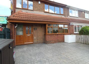 Thumbnail 3 bed end terrace house to rent in Wordsworth Avenue, Blyth