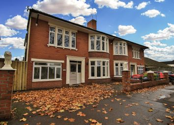 Thumbnail 4 bed semi-detached house for sale in Heathwood Road, Heath, Cardiff