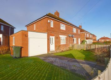 Thumbnail 2 bed semi-detached house for sale in Norham Drive, Westerhope, Newcastle Upon Tyne