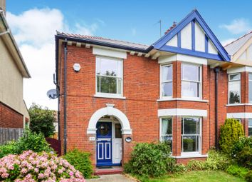 Thumbnail 4 bed semi-detached house for sale in Kirkley Cliff Road, Lowestoft