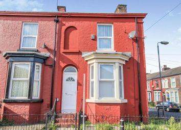 Thumbnail 3 bed end terrace house for sale in Queens Road, Bootle