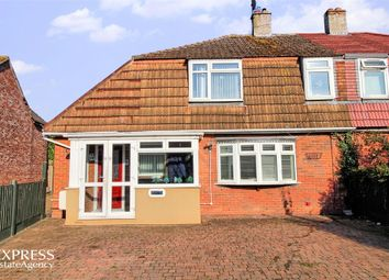 Thumbnail 4 bed semi-detached house for sale in Queensway, Ongar, Essex