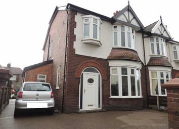 Thumbnail 4 bed semi-detached house for sale in Town Lane, Denton, Manchester