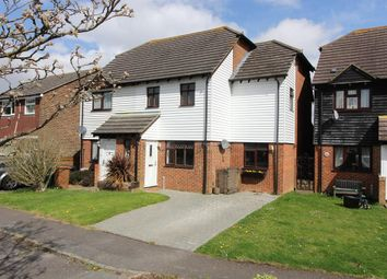 Thumbnail 3 bed semi-detached house for sale in Riverside Close, Ashford, Kent