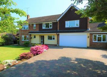 Thumbnail 5 bed detached house to rent in Elsenwood Crescent, Camberley