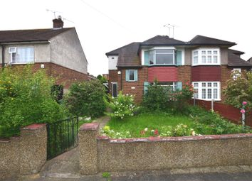 Thumbnail 3 bed semi-detached house for sale in Fields Park Crescent, Chadwell Heath, Romford