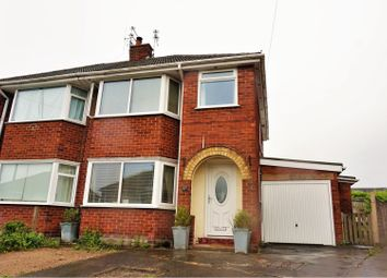 Thumbnail 3 bed semi-detached house for sale in Meadowcroft Avenue, Preston