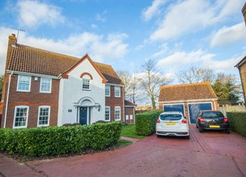 Thumbnail 5 bed detached house for sale in De Vere Close, Hatfield Peverel, Chelmsford