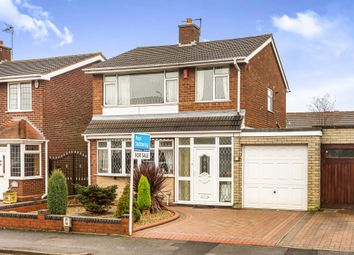 Thumbnail 3 bedroom detached house for sale in Bertram Close, Tipton