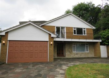 Thumbnail 4 bed detached house to rent in Kemnal Road, Chislehurst, Kent
