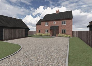 Thumbnail 4 bed detached house for sale in Walton Road, Plot 6, Marshland St. James, Wisbech