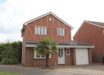 Thumbnail 3 bed detached house for sale in Sword Close, Glenfield, Leicester
